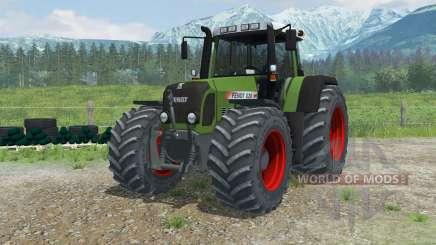 Fendt 820 Vario TMS zwillingsreifen для Farming Simulator 2013