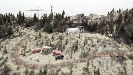 Лес 10 для MudRunner