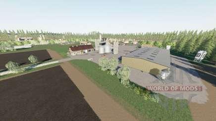 Agrar Halbinsel для Farming Simulator 2017