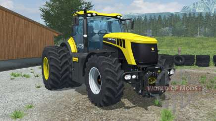 JCB Fastrac 8310 dual rear wheels для Farming Simulator 2013