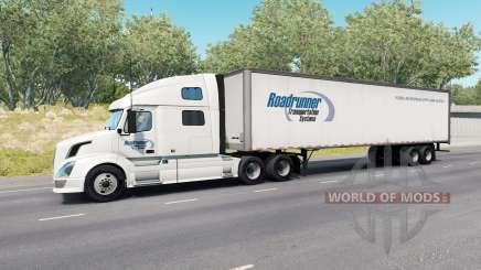 Painted Truck Traffic Pack v3.1 для American Truck Simulator