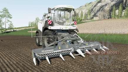 Krone BiG X 580&1100 для Farming Simulator 2017