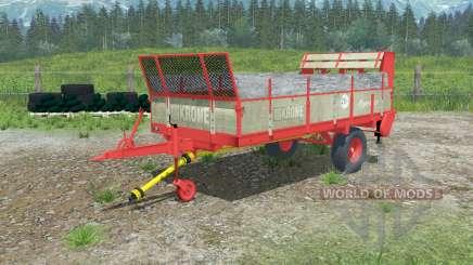 Krone Optimat 3.5 для Farming Simulator 2013