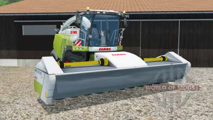 Claas Jaguar 980 with headers для Farming Simulator 2015