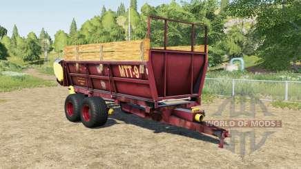 МТТ-9 и ПРТ-7А для Farming Simulator 2017