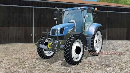 New Holland T6.160 changing wheels для Farming Simulator 2015