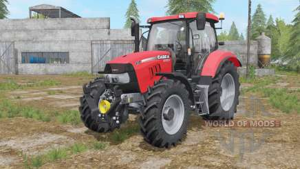 Case IH Maxxum configuration options engine для Farming Simulator 2017