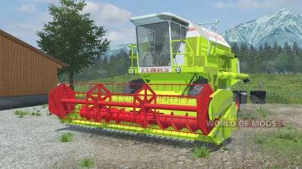 Claas Dominator 106 vivid lime green для Farming Simulator 2013