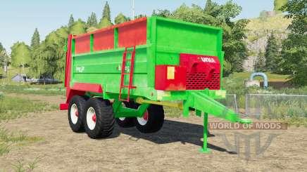 Unia Tytan 10 design selection для Farming Simulator 2017