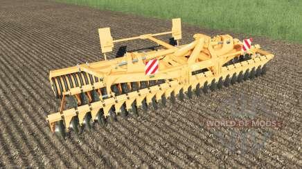 Amazone Catros 6002-2 multicolor для Farming Simulator 2017