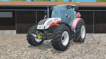 Steyr 6230 CVT weight increased для Farming Simulator 2015