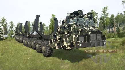 МАЗ-7907 для MudRunner