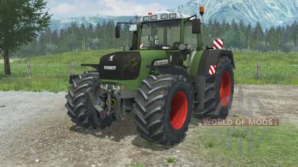 Fendt 930 Vario TMS wheels dirty для Farming Simulator 2013