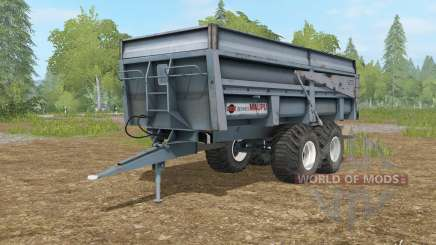 Maupu BBM slate gray для Farming Simulator 2017