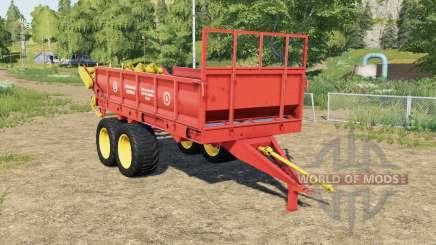 РОУ-6 с анимацией частиц для Farming Simulator 2017