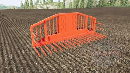 Silage Fork volume 25000 liters для Farming Simulator 2017