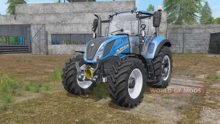 New Holland T5.100 chip tuning для Farming Simulator 2017