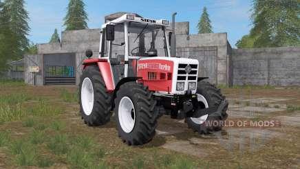 Steyr 8090A Turbo carmine pink для Farming Simulator 2017