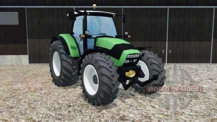 Deutz-Fahr Agrotron K 420 crayola green для Farming Simulator 2015