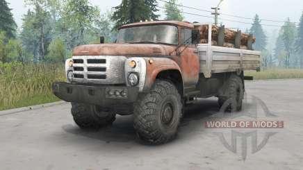 ЗиЛ-133ГЯ 4x4 для Spin Tires