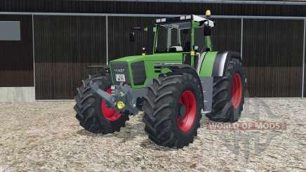 Fendt Favorit 824 Turboshift with basic scripts для Farming Simulator 2015