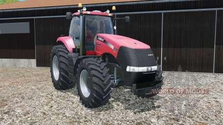Case IH Magnum CVX with different wheel widths для Farming Simulator 2015