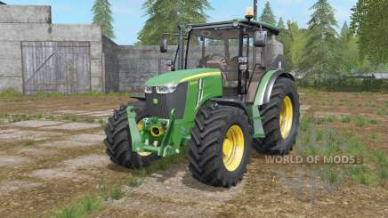 John Deere 5M-series для Farming Simulator 2017
