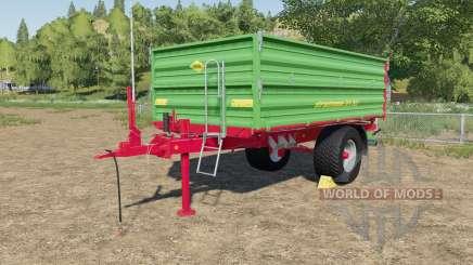 Strautmann SEK 802 with rear hose connections для Farming Simulator 2017
