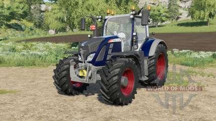 Fendt 700 Vario Bos 3-color для Farming Simulator 2017