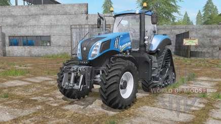 New Holland T8-series wheels options для Farming Simulator 2017