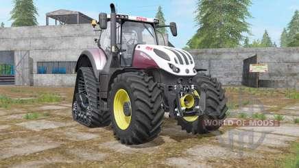 Steyr Terrus 6000 CVT Rowtrac для Farming Simulator 2017