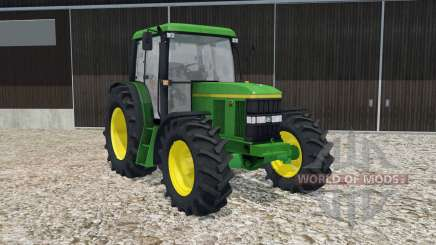 John Deere 6410 SE chateau green для Farming Simulator 2015