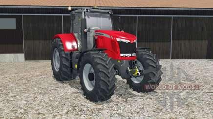 Massey Ferguson 7622 crayola red для Farming Simulator 2015