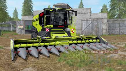 Claas Lexion 795 with headers для Farming Simulator 2017