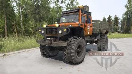 ЗВМ-39082 Сивер 4x4 для MudRunner