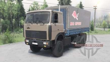 МАЗ-6317 v1.2 для Spin Tires
