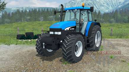 New Holland TM 190 manual ignition для Farming Simulator 2013