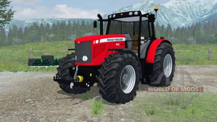 Massey Ferguson 6480 More Realistic для Farming Simulator 2013