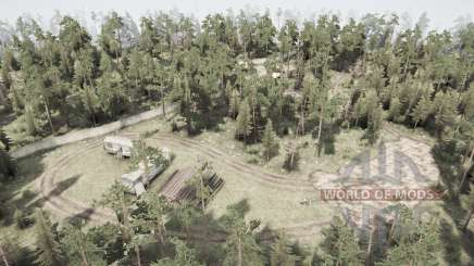 Мёртвый лес для MudRunner