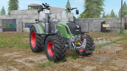 Fendt 300 Vario sea green для Farming Simulator 2017