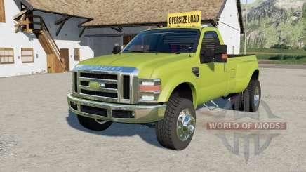 Ford F-350 oversize load для Farming Simulator 2017