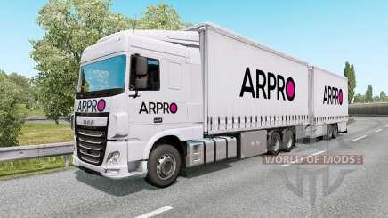 Painted BDF Traffic Pack v6.7 для Euro Truck Simulator 2