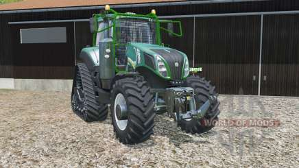 New Holland T8.435 fun green для Farming Simulator 2015