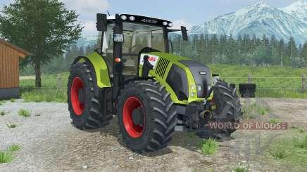 Claas Axion 850 with MX T12 для Farming Simulator 2013