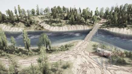 За лесом - за реку для MudRunner