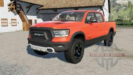 Ram 1500 resized the truck для Farming Simulator 2017