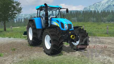 New Holland T7550 FL console для Farming Simulator 2013