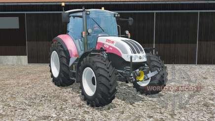 Steyr 6230 CVT has more power для Farming Simulator 2015