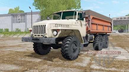 Урал-5557 с тремя вариантами кузова для Farming Simulator 2017