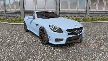 Mercedes-Benz SLK 55 AMG (R172) 2012 для Euro Truck Simulator 2